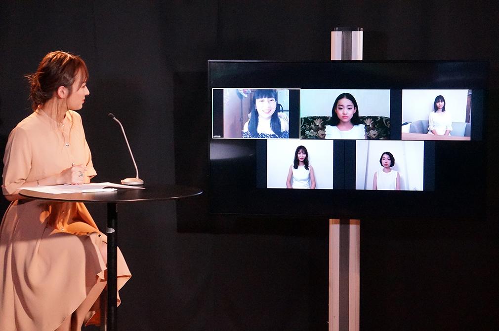 オンライン開催された『美少女図鑑アワード2020』授賞式の様子