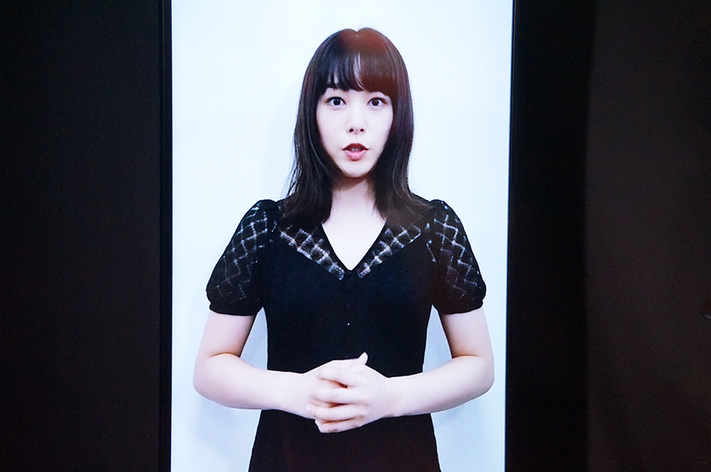 「岡山美少女図鑑」に掲載されていた女優・桜井日奈子からのビデオメッセージも