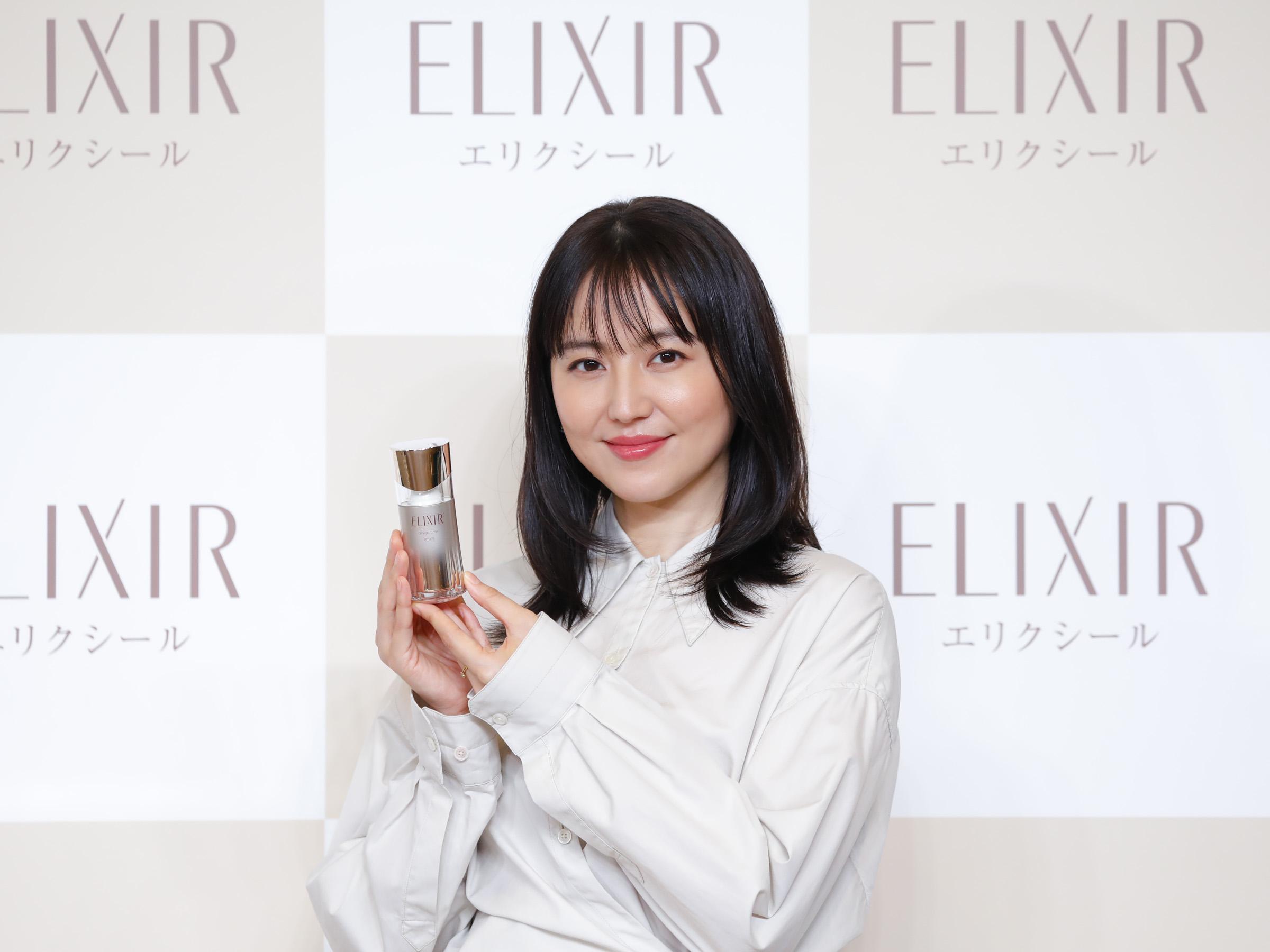 長澤まさみ/エリクシールの新ミューズ発表会にて(2020年8月20日)