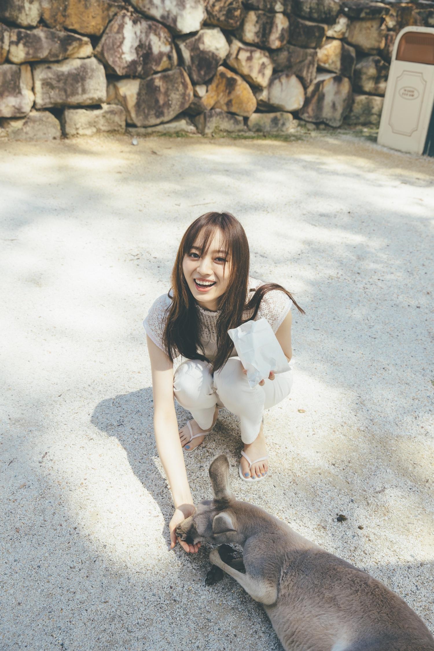 梅澤美波(乃木坂46)、1st写真集 撮影/東京祐