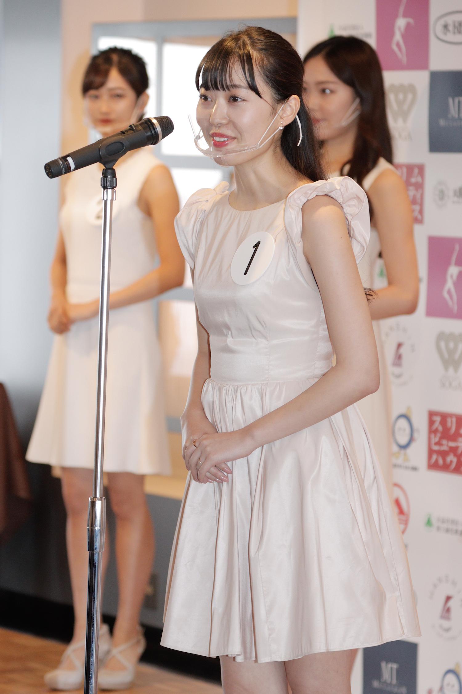 日達 舞/『第53回ミス日本コンテスト2021』東日本地区大会よりファイナリスト/撮影:ACTRESS PRESS