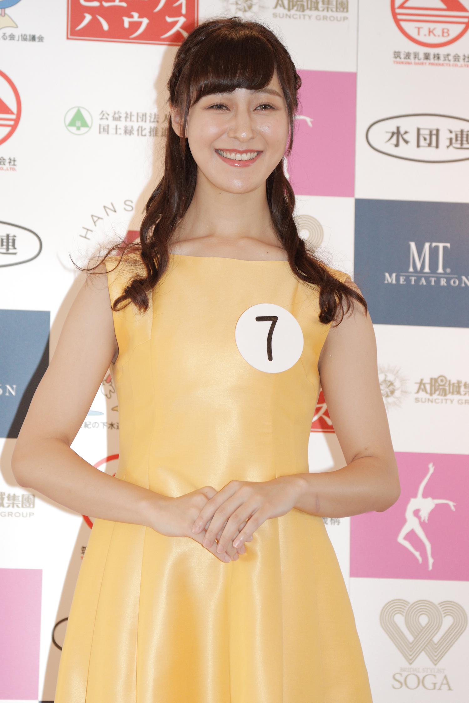 林 彩佳『第53回ミス日本コンテスト2021』東日本地区大会よりファイナリスト/撮影:ACTRESS PRESS