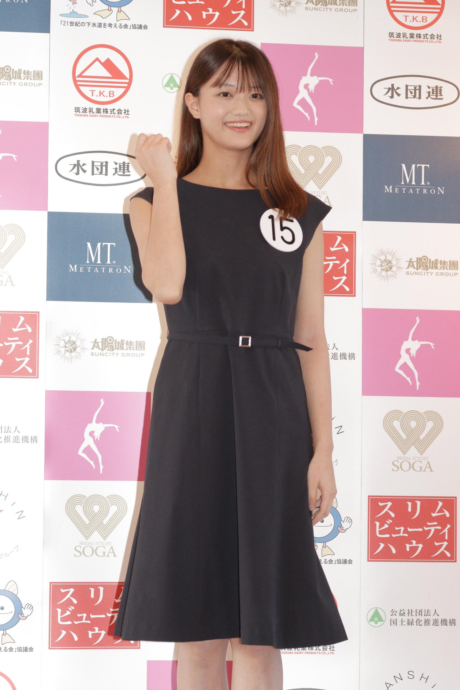 吉田さくら『第53回ミス日本コンテスト2021』東日本地区大会よりファイナリスト/撮影:ACTRESS PRESS