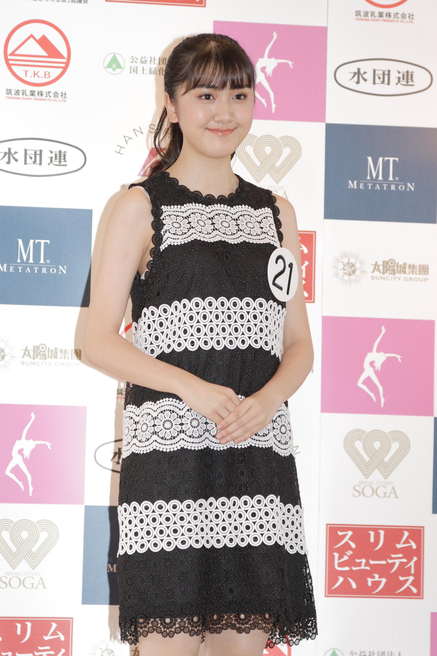 飯村 さやか『第53回ミス日本コンテスト2021』東日本地区大会よりファイナリスト/撮影:ACTRESS PRESS