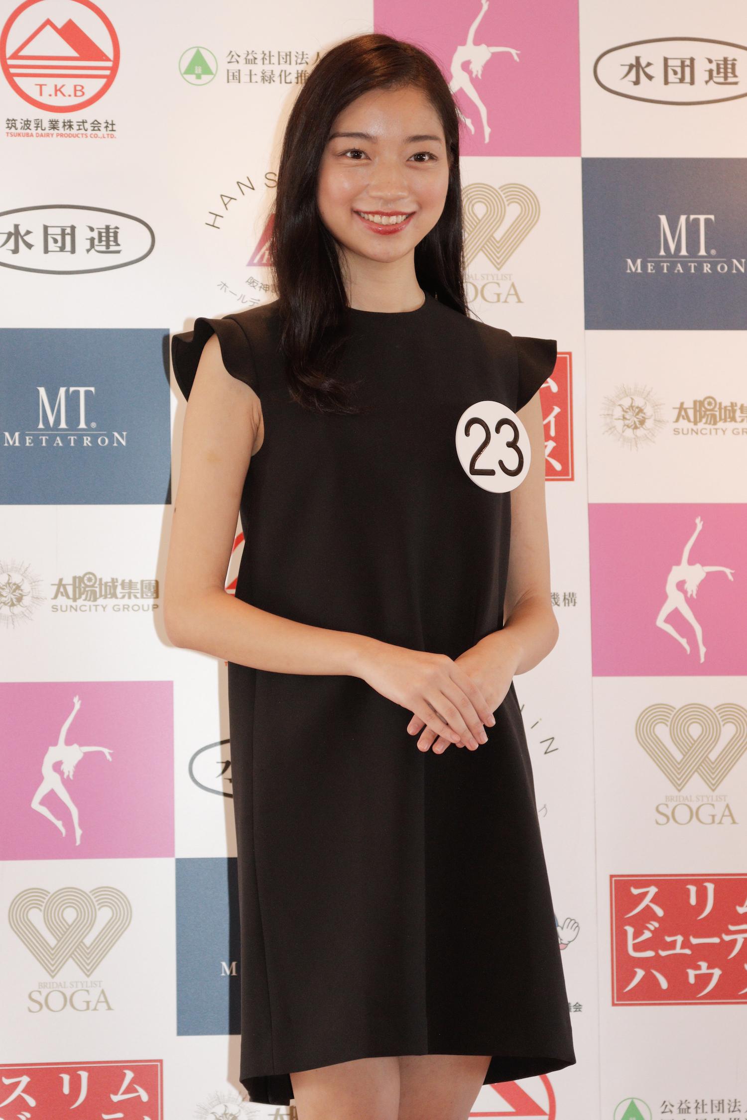 森内 麻理衣『第53回ミス日本コンテスト2021』東日本地区大会よりファイナリスト/撮影:ACTRESS PRESS