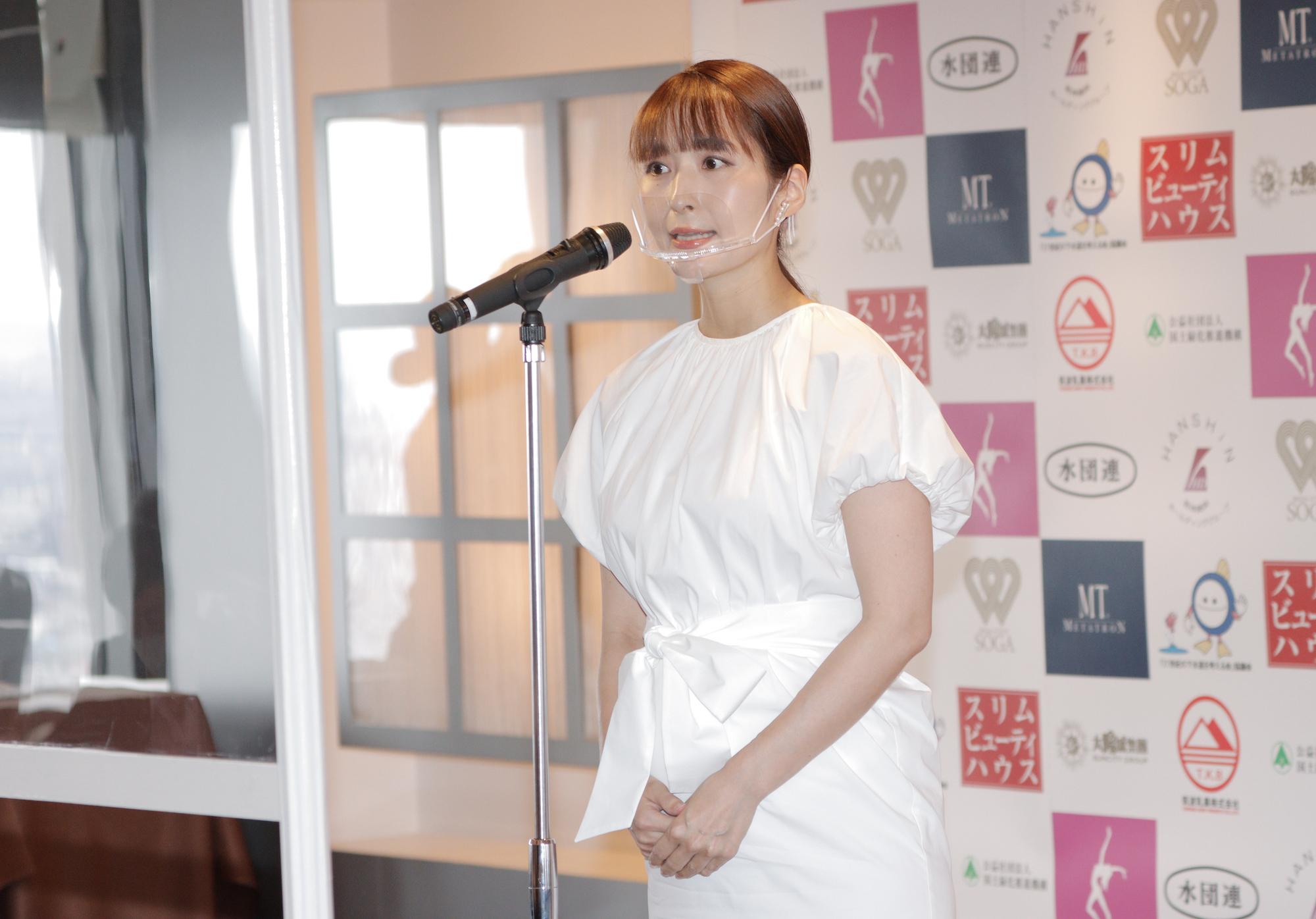 今回より、大会委員長を務める、和田あい /撮影:ACTRESS PRESS