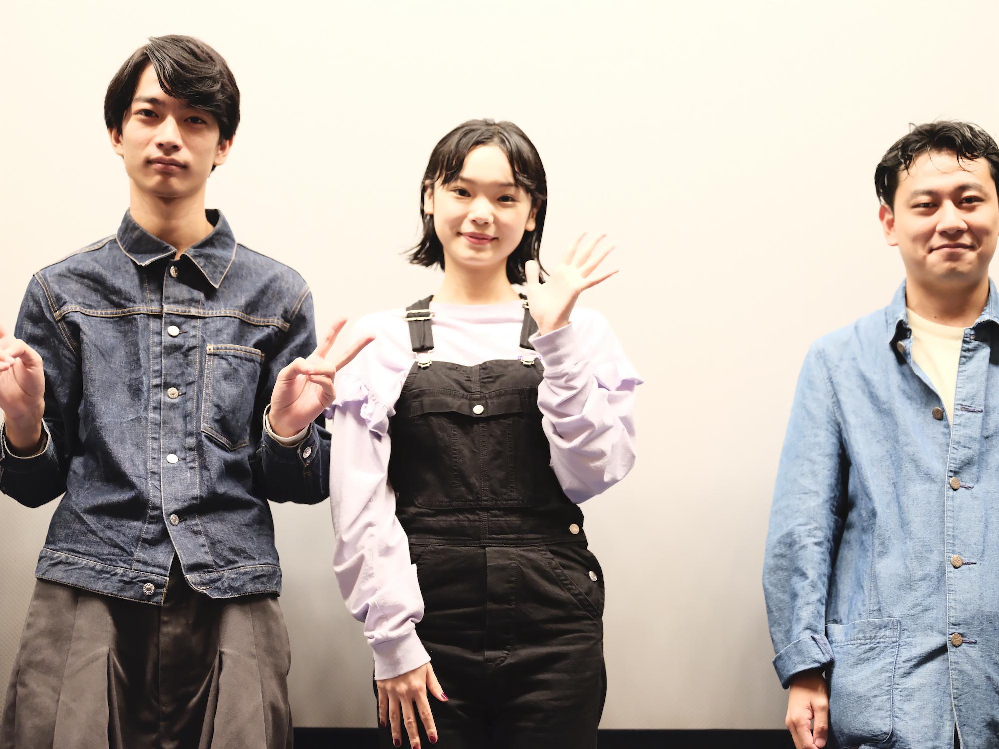 古川琴音/映画「蒲田前奏曲」公開記念舞台挨拶にて(2020年9月26日)