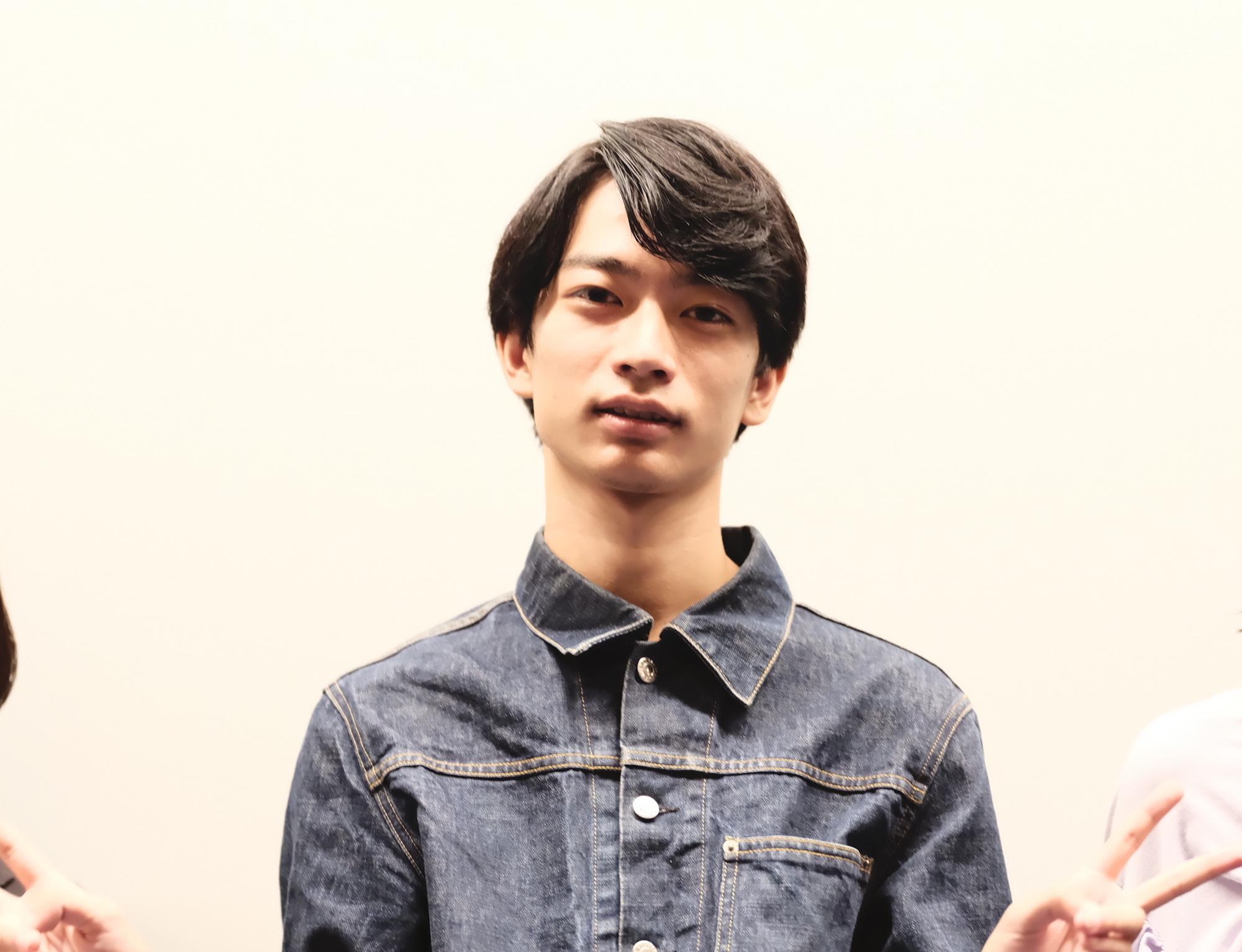 須藤蓮/映画「蒲田前奏曲」公開記念舞台挨拶にて(2020年9月26日)