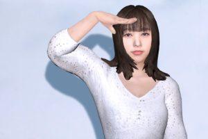 バーチャルの桜井日奈子