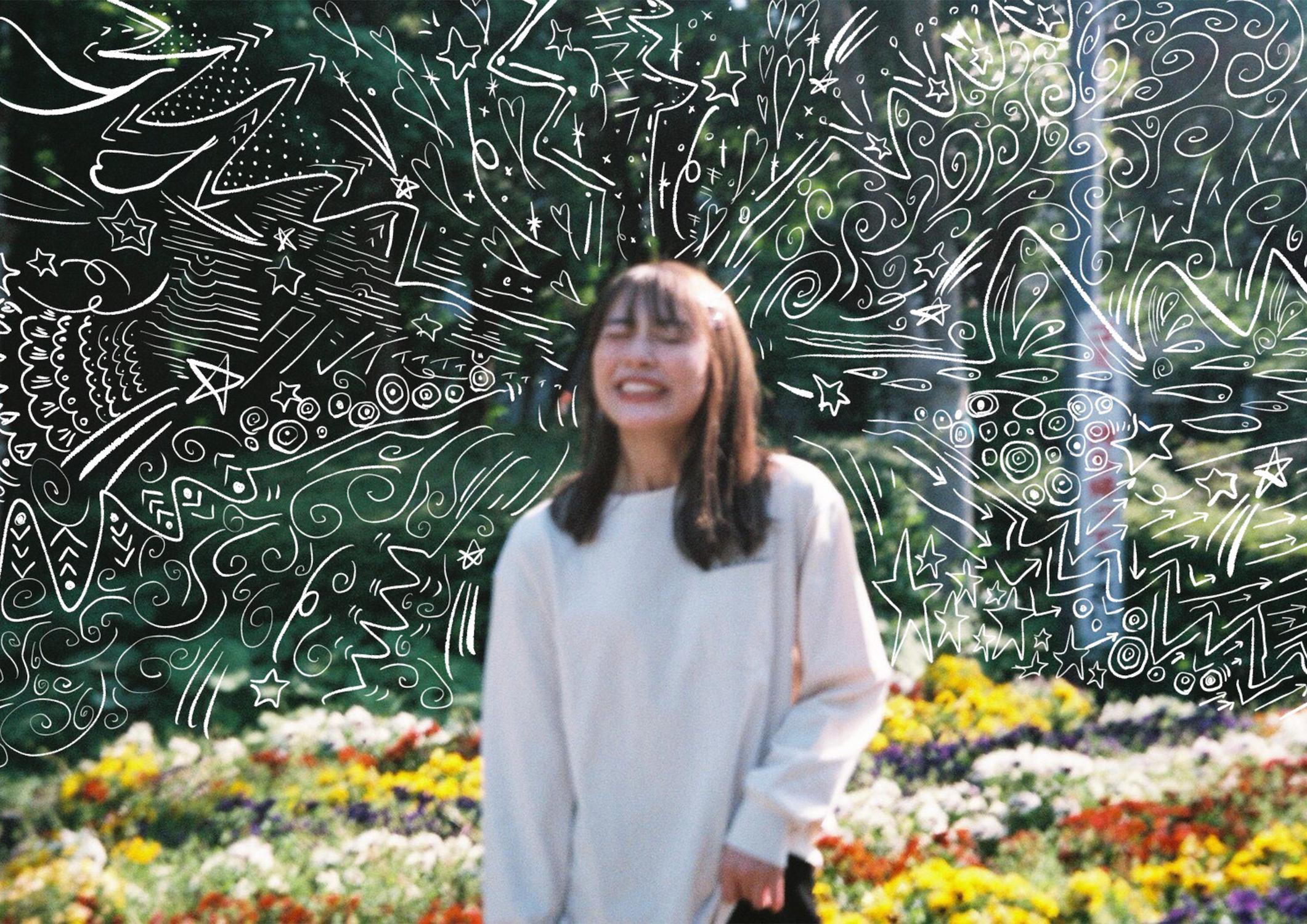 内田理央(うちだ・りお)オンライン写真展。『内田理央 10 周年企画スマホの中身展「半目と開眼」』