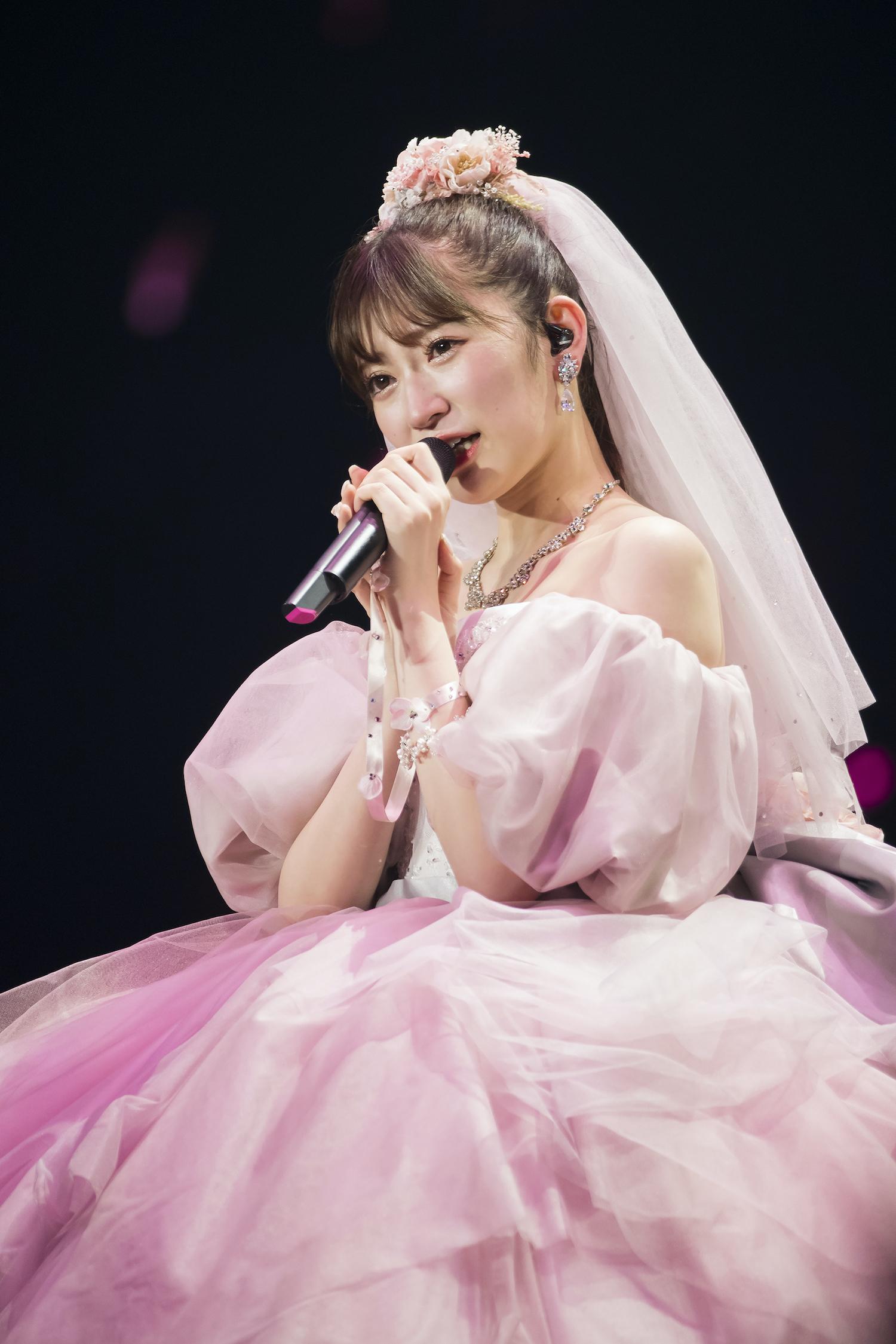 吉田朱里『NMB48 吉田朱里卒業コンサート~さよならピンクさよならアイドル~』2020年10月24日©NMB48