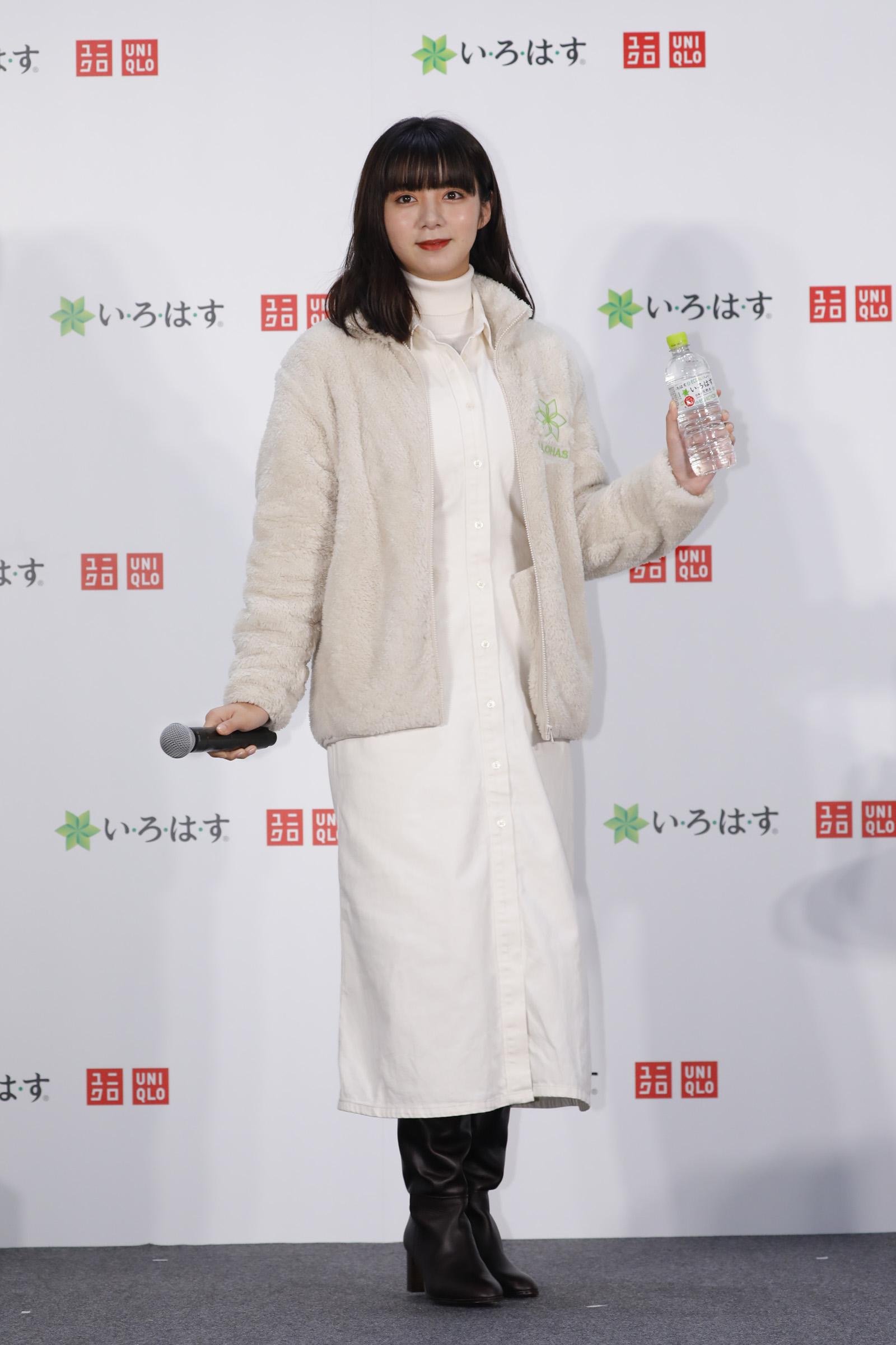 い・ろ・は・す×UNIQLO eco ACTION」キャンペーン記念イベントにて(2020年10月1日)