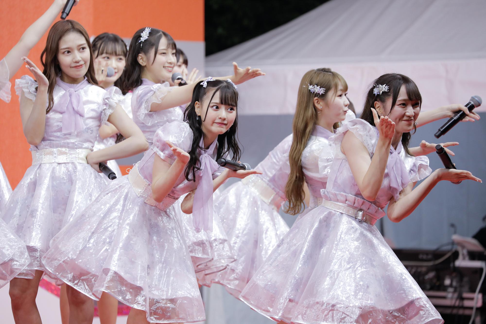 =LOVE(イコールラブ)/TOKYO IDOL FESTIVAL オンライン 2020にて/撮影:ACTRESS PRESS編集部(2020年10月2日)