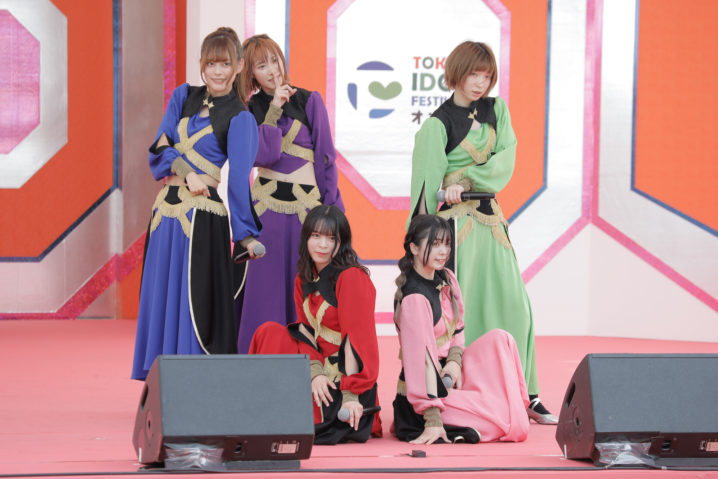 豆柴の大群/TOKYO IDOL FESTIVAL オンライン 2020/ACTRESS PRESS編集部(2020年10月)