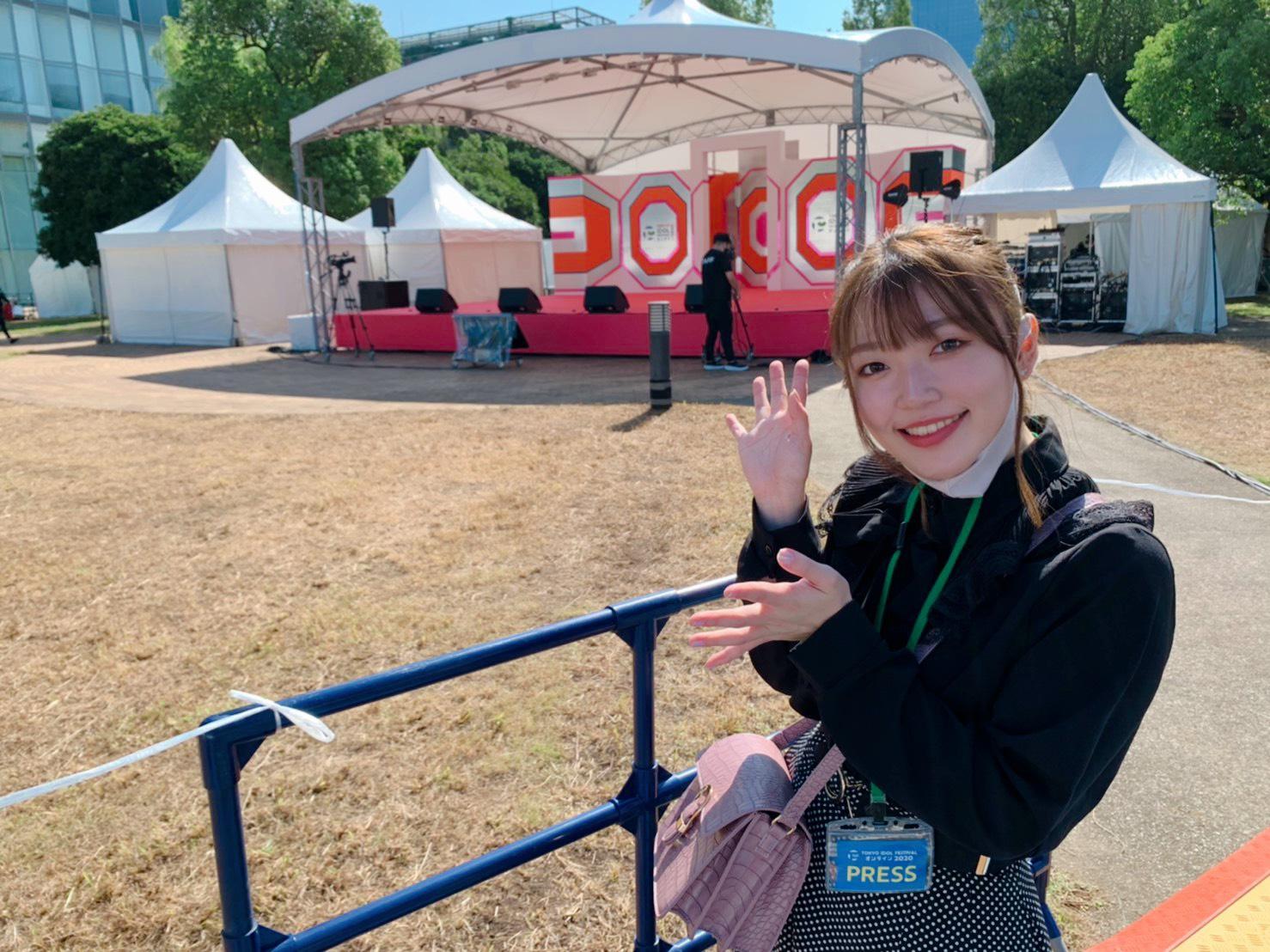 打矢萌絵/TOKYO IDOL FESTIVAL オンライン 2020にて/撮影:ACTRESS PRESS編集部(2020年10月)