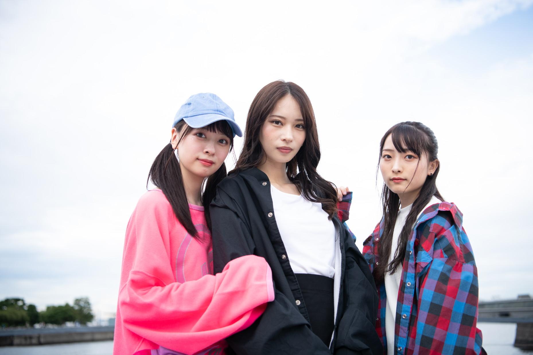 ガールズバンド「きみとバンド」(大野姉妹with清原梨央(仮))大野真依・大野ひまり・清原梨央