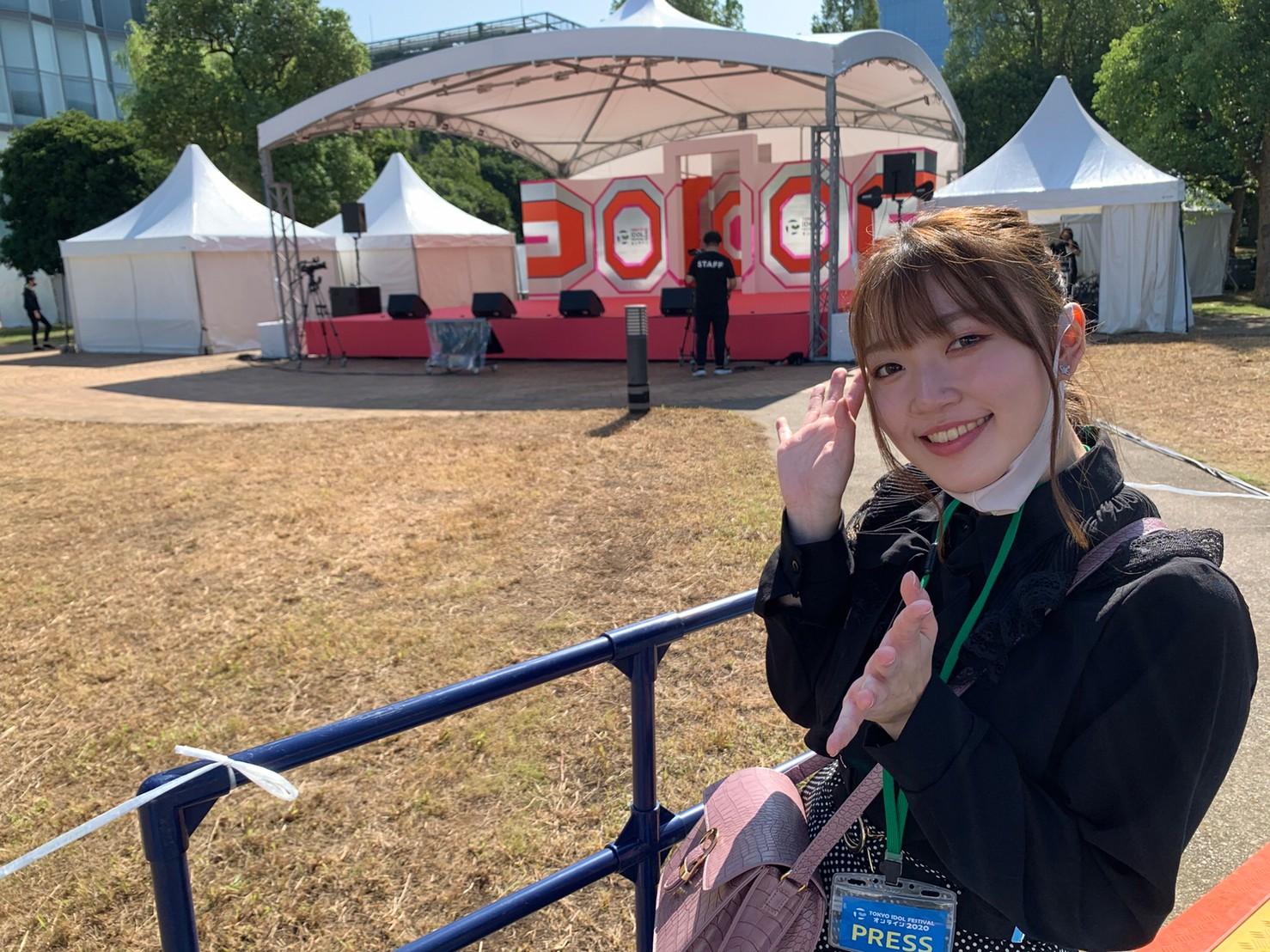 打矢萌絵/TOKYO IDOL FESTIVAL オンライン 2020/ACTRESS PRESS編集部(2020年10月2日)