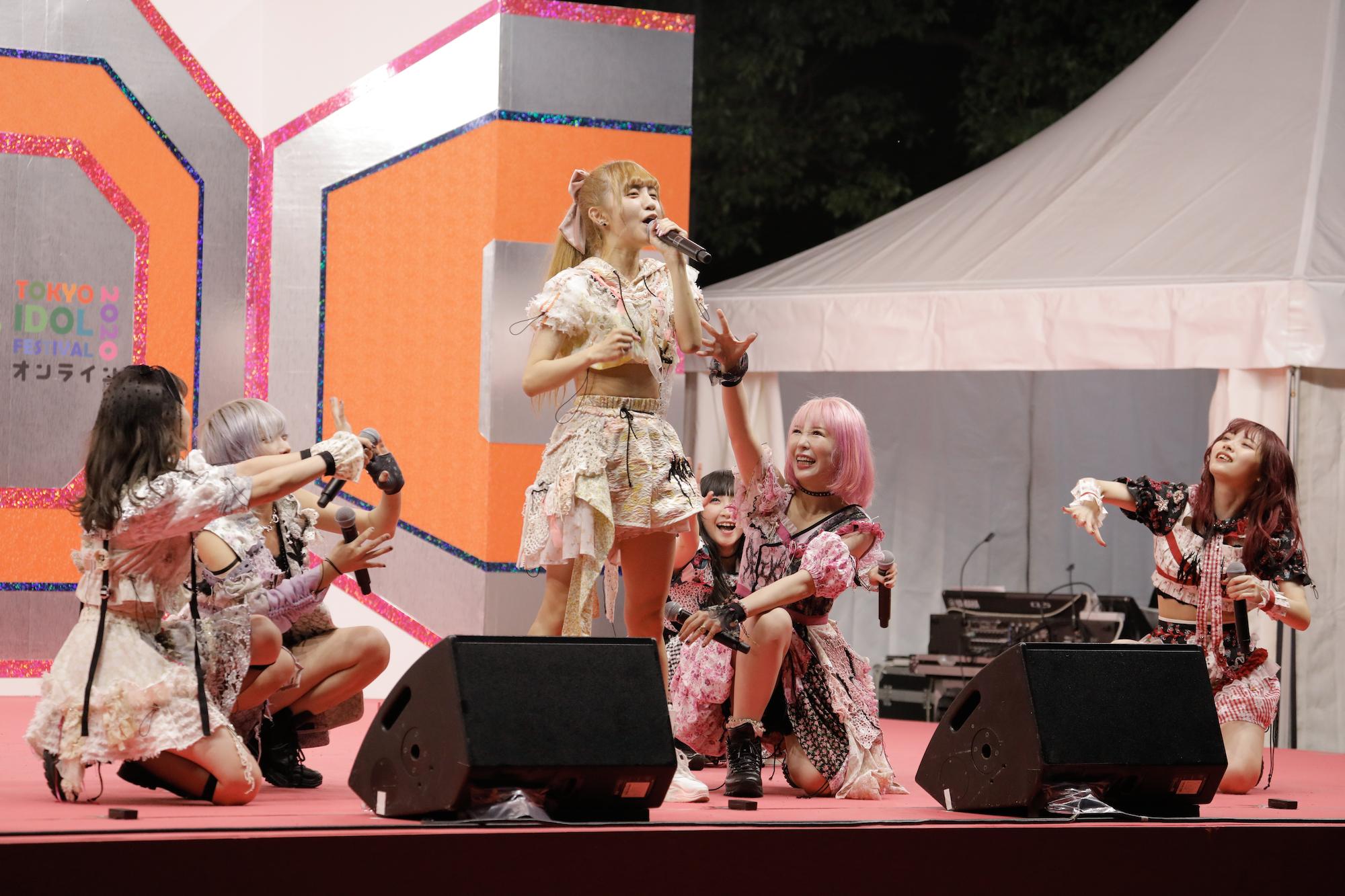 ZOC/TOKYO IDOL FESTIVAL オンライン 2020にて/撮影:ACTRESS PRESS編集部(2020年10月)