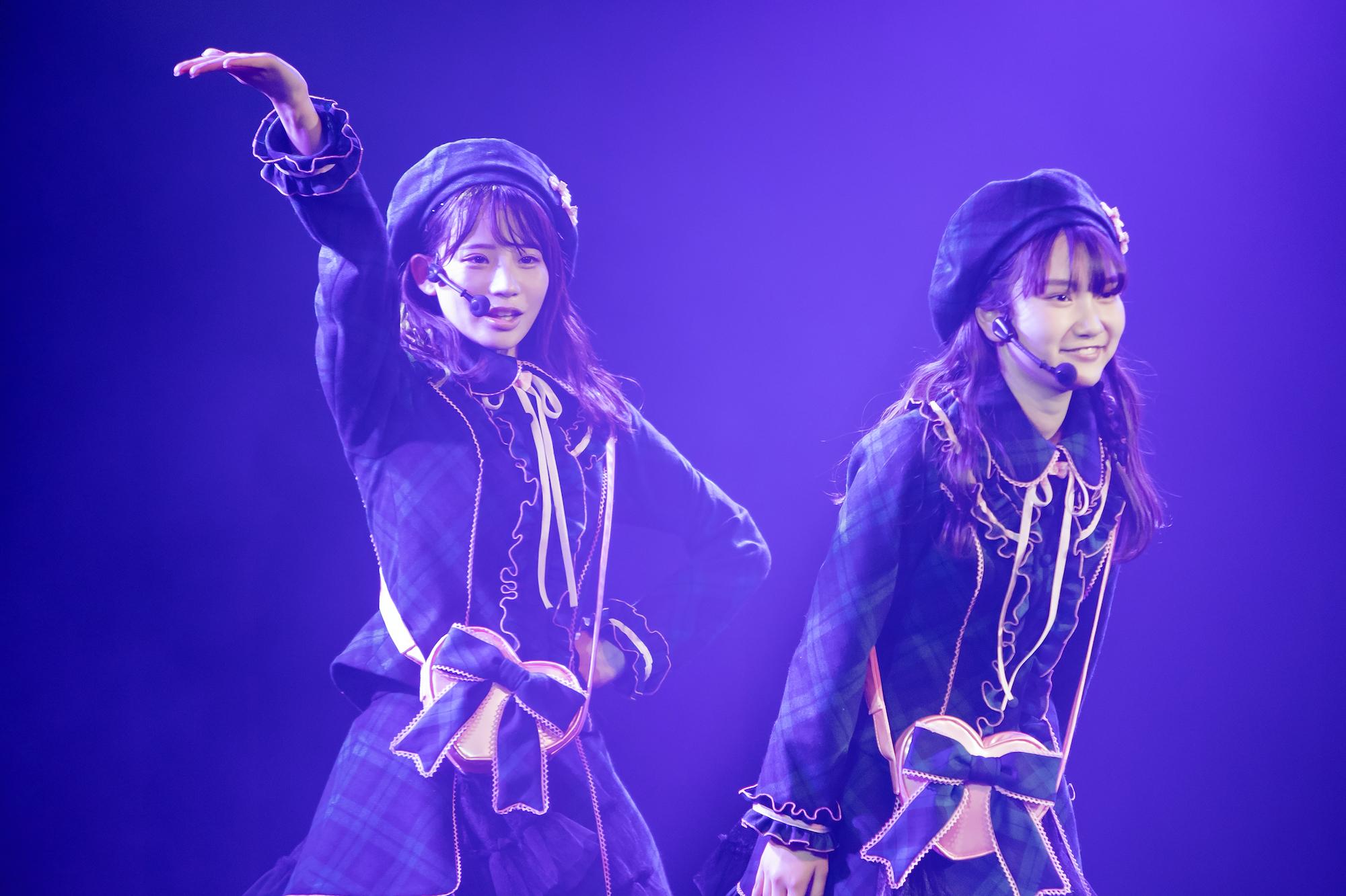 NMB48 吉田朱里プロデュース・7期生研究公演「Will be idol」にて(2020年11月21日、NMB48劇場にて)