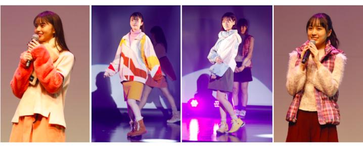 乃木坂46 齋藤飛鳥、久保史緒里、山下美月、賀喜遥香がグランピングを意識した秋冬ファッションでモデルウォーク!【SHIBUYA SCRAMBLE FESTIVAL 2020 Produced by anan】