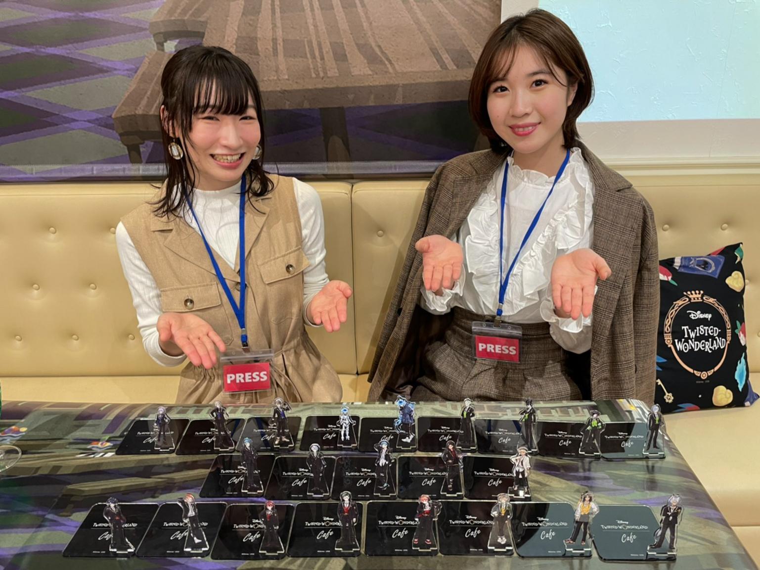 左~渡辺陽(明治大学4年)、右~戸梶潤子(法政大学2年)