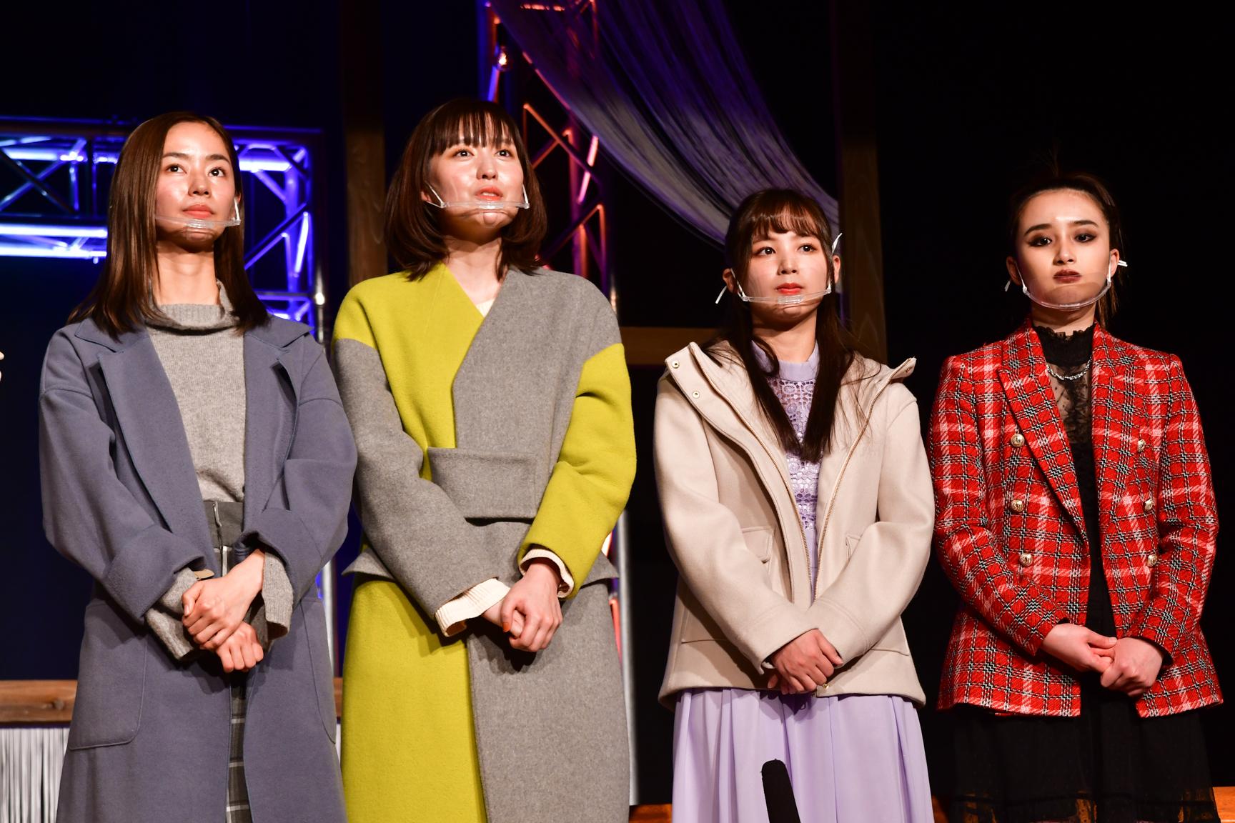 (みかんチーム)前田悠雅、岩井七世、立野沙紀、安倍乙