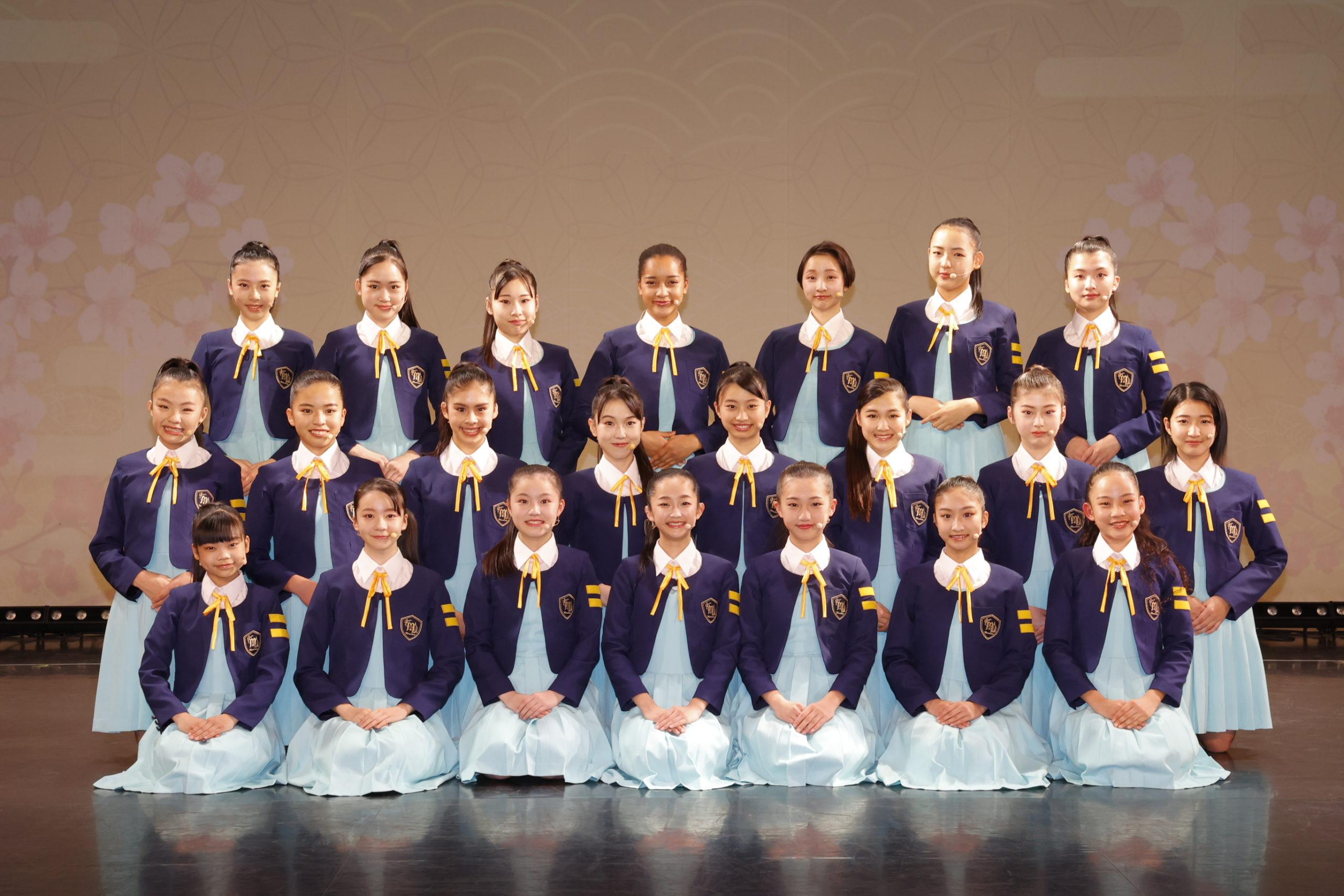 少女歌劇団ミモザーヌ、第1回オンライン公演「Begin〜始まりの歌~」©少女歌劇団ミモザーヌ