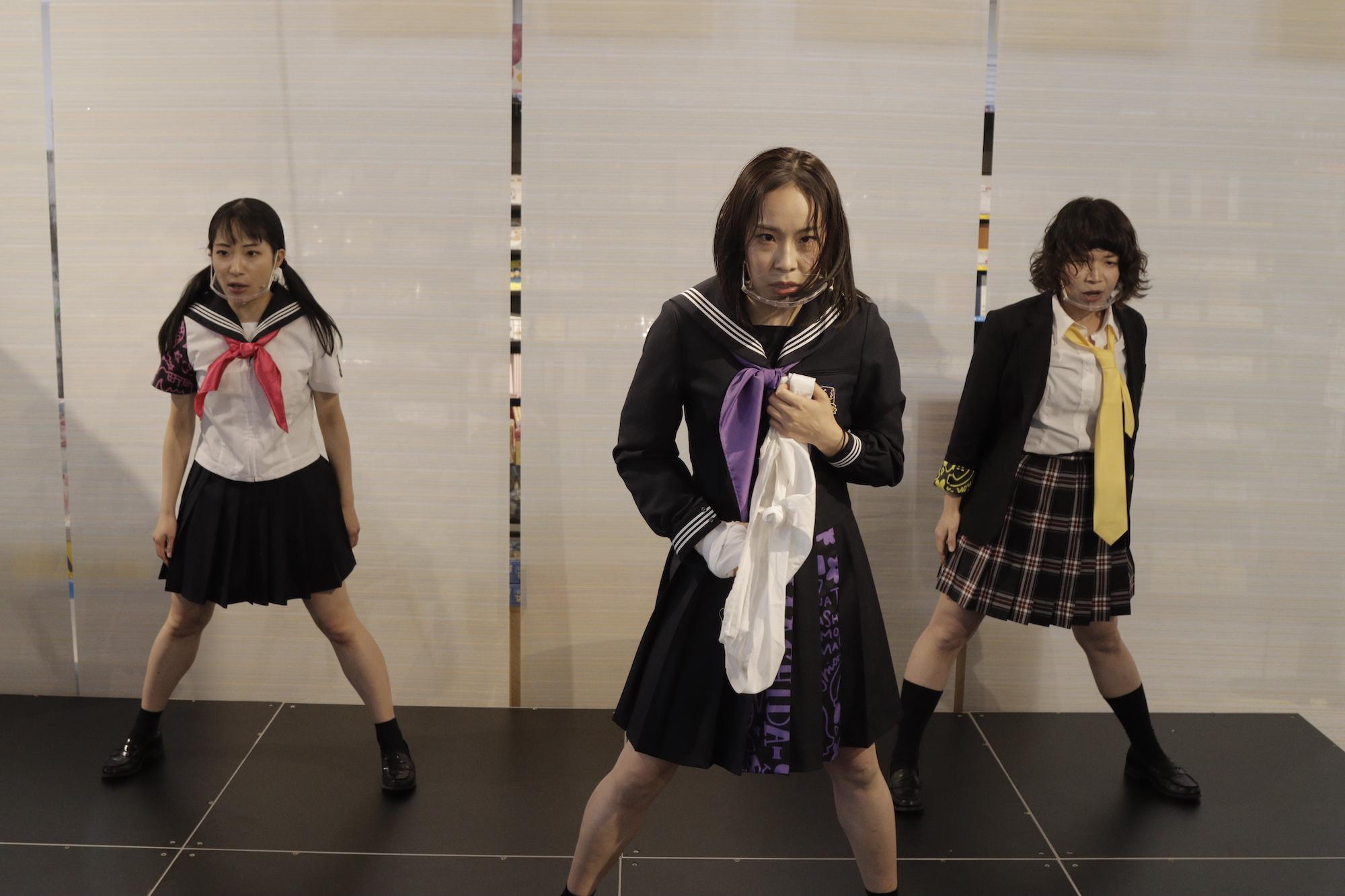 町田市を盛り上げる3人組アイドルグループ「マチダーS」