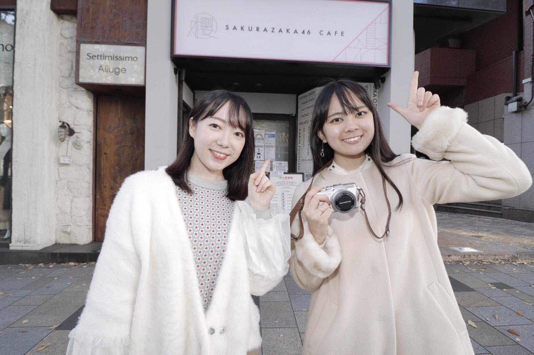 左~川崎未来(東京農業大学3年)・青木千聖(上智大学2年)