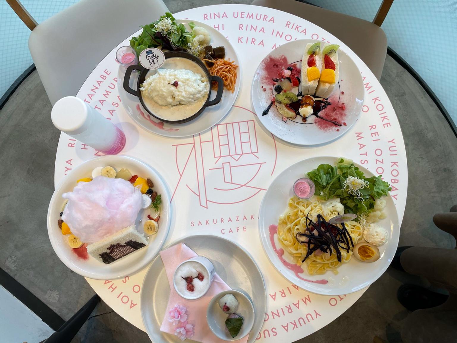 櫻坂46カフェ