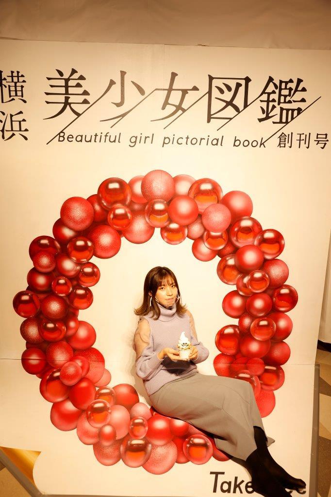 横浜美少女図鑑とコラボしたアートリック作品
