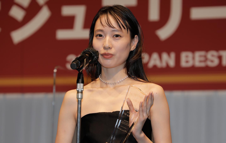 戸田恵梨香(女優)『第32回日本ジュエリーベストドレッサー賞授賞式』