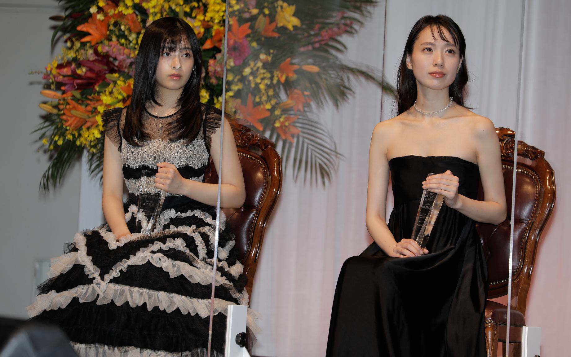 森七菜・戸田恵梨香『第32回日本ジュエリーベストドレッサー賞授賞式』