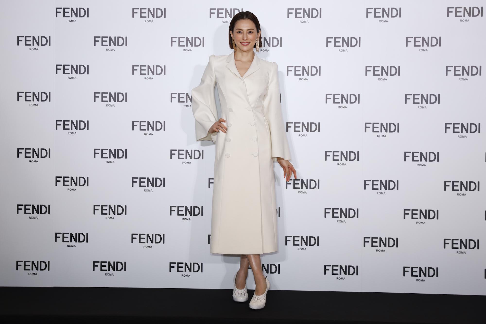 米倉涼子/「FENDI ジャパンブランドアンバサダー就任記者会見」2021年1月19日