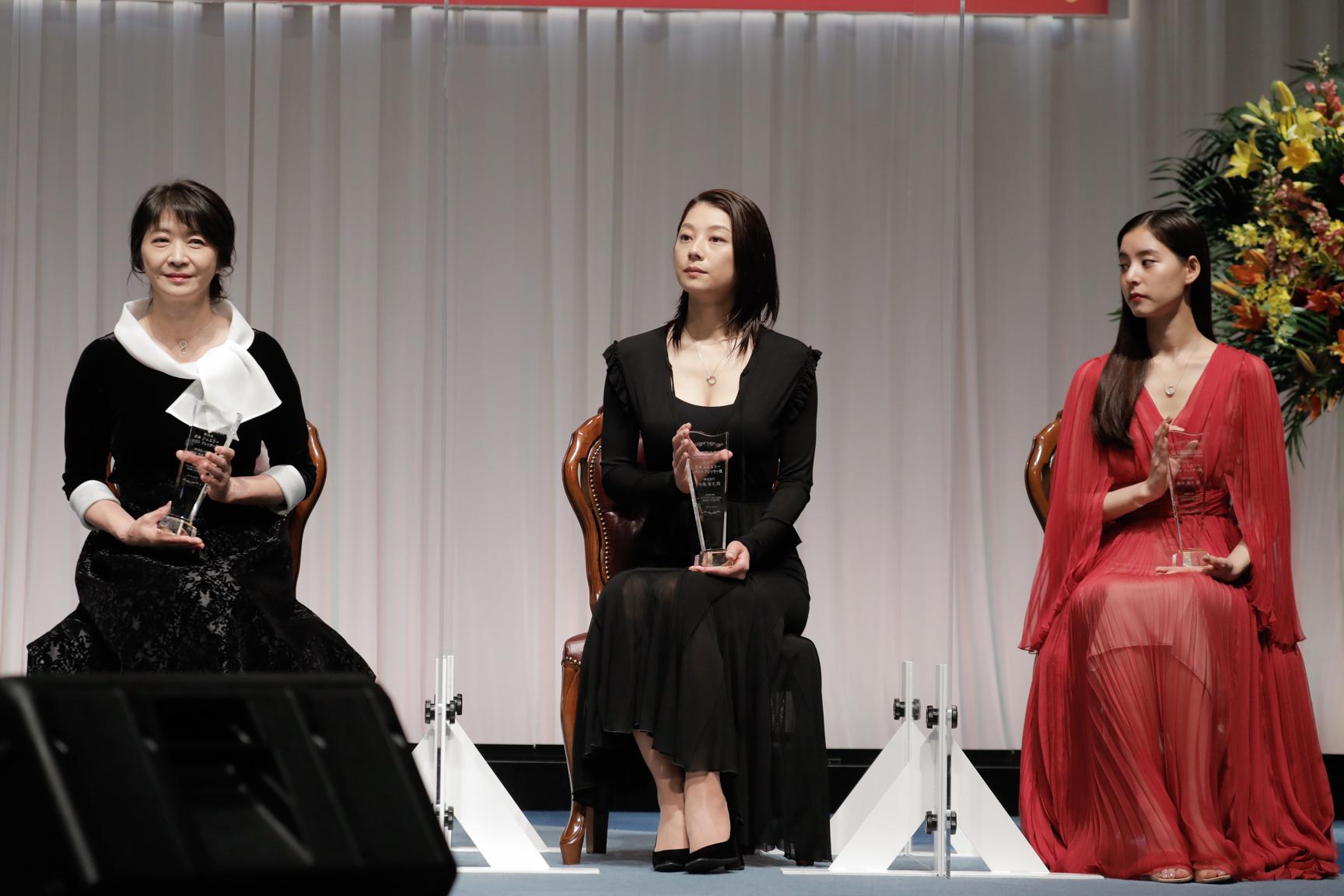 新木優子 田中美佐子 小池栄子『第32回日本ジュエリーベストドレッサー賞授賞式』