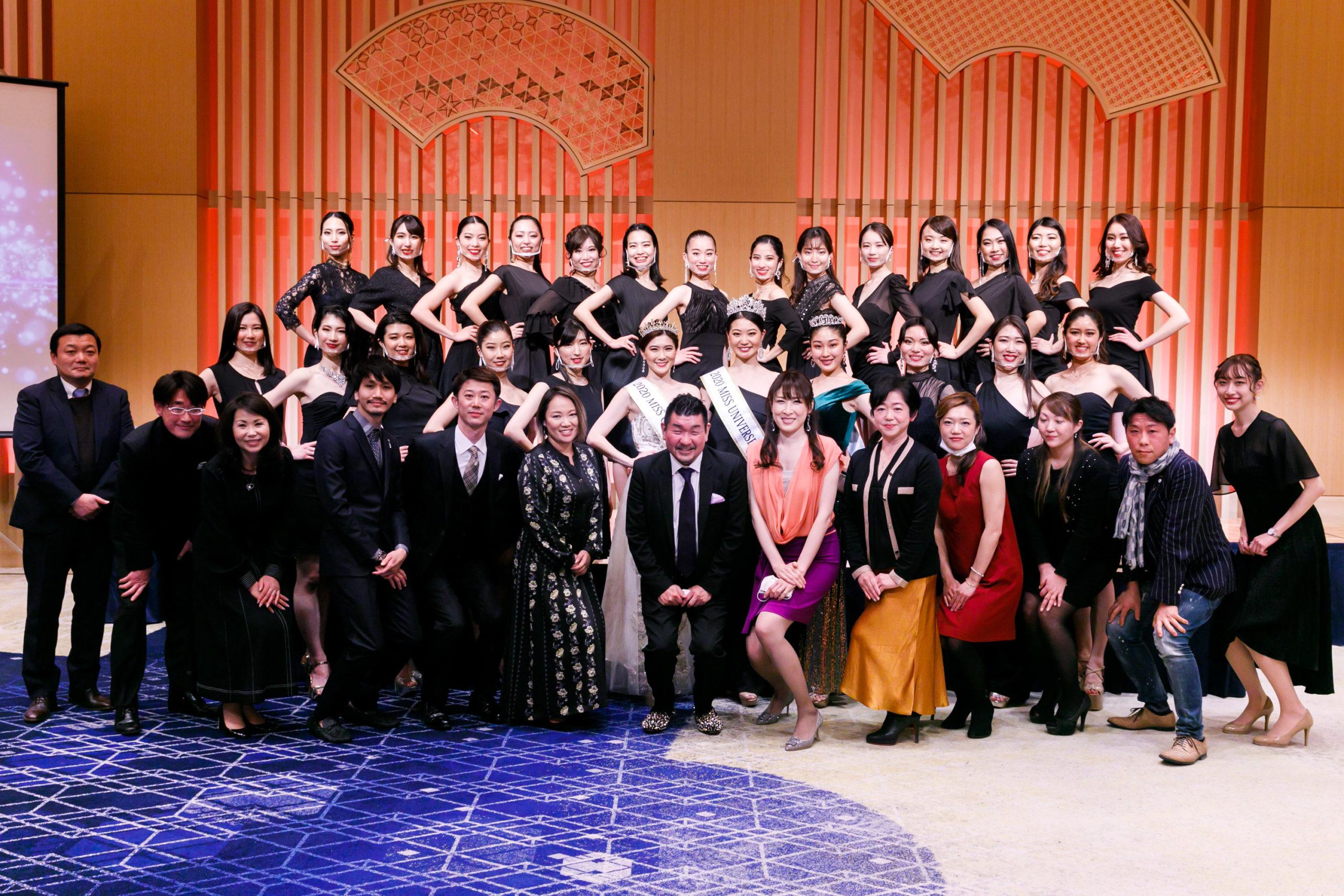 ベストオブミス 2021東京大会のファイナリスト