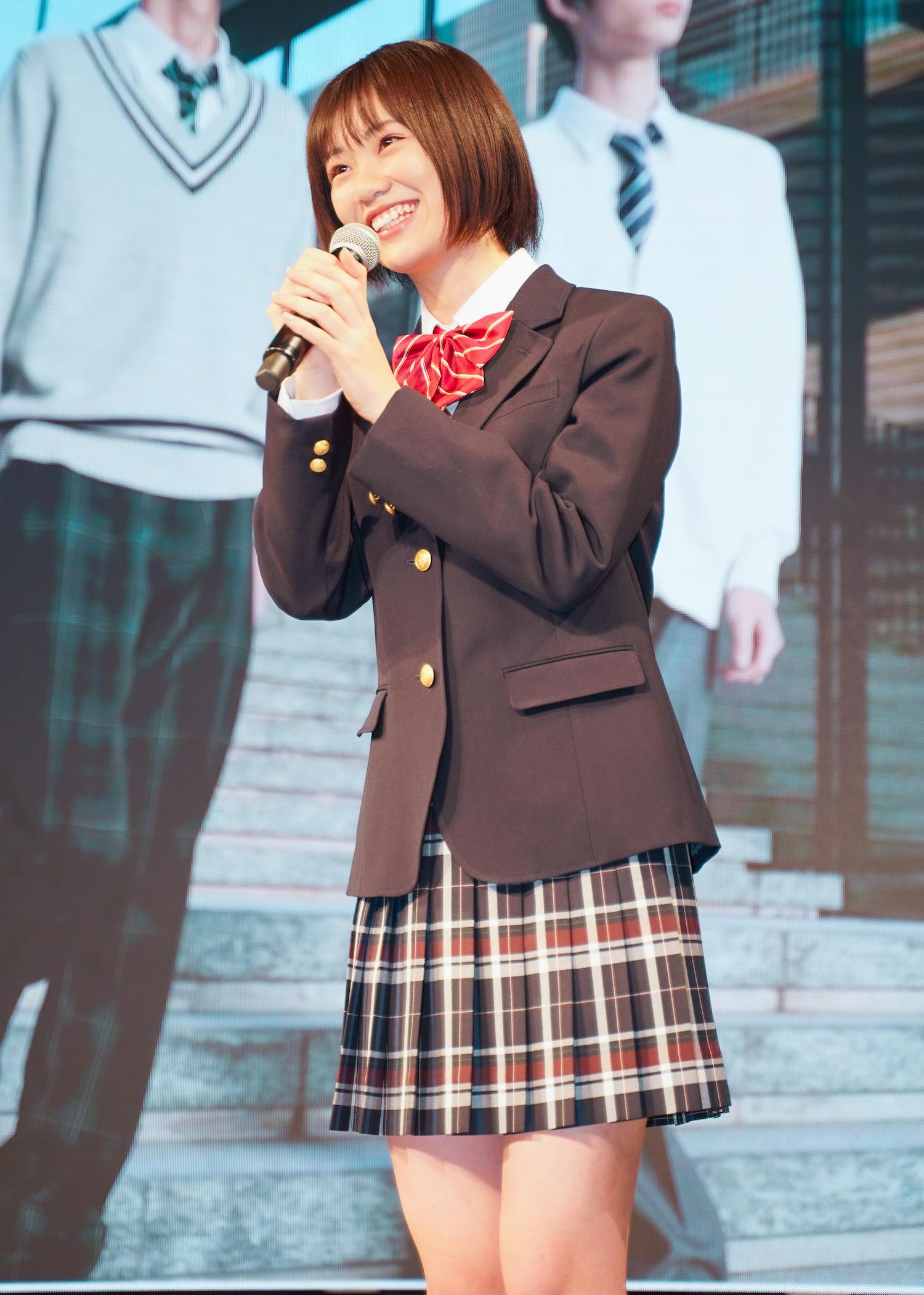 竹内詩乃さん「第8回 日本制服アワード」女子グランプリ/2021年2月7日(撮影:ACTRESS PRESS編集部 SHUN)