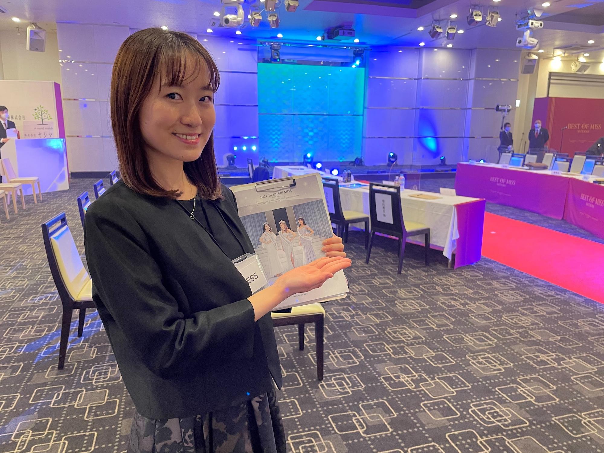 荒谷祐花(学習院大学)ACTRESS PRESS REPORTER