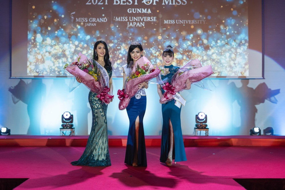 2021 BEST OF MISS GUNMA(岸美羽、印東綾乃、浜畑亜由美)