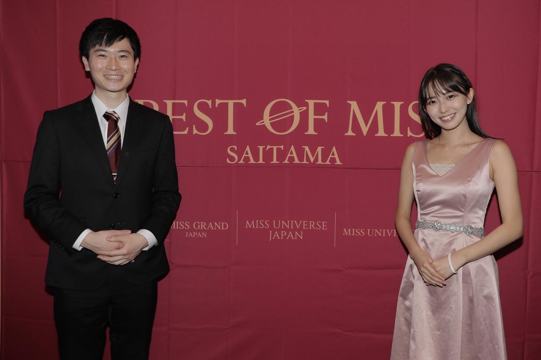 司会:左から佐々木一朗さん、志田音々さん 現役大学生2名による爽やかなMC