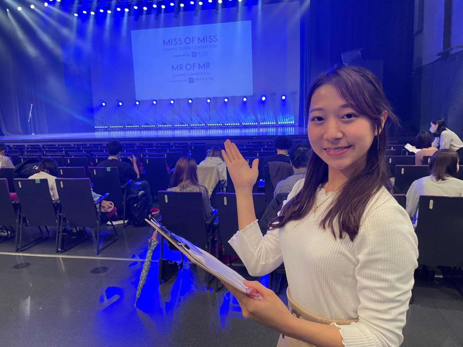 松本栞(上智大学)ACTRESS PRESS REPORTER