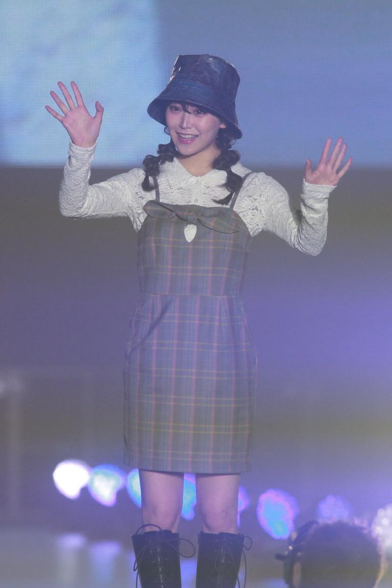白間美瑠(NMB48)ステージ