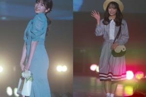 『関西コレクション2021 S/S』で白間美瑠(MNB48 )が吉田朱里との共演に歓喜!