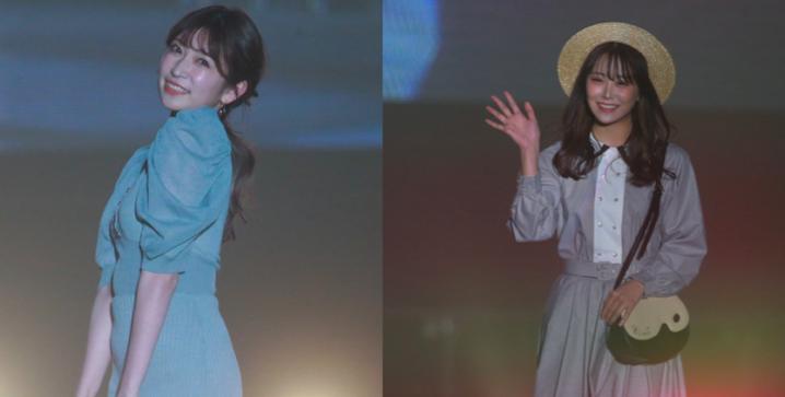 『関西コレクション2021 S/S』で白間美瑠(NMB48 )が吉田朱里との共演に歓喜!