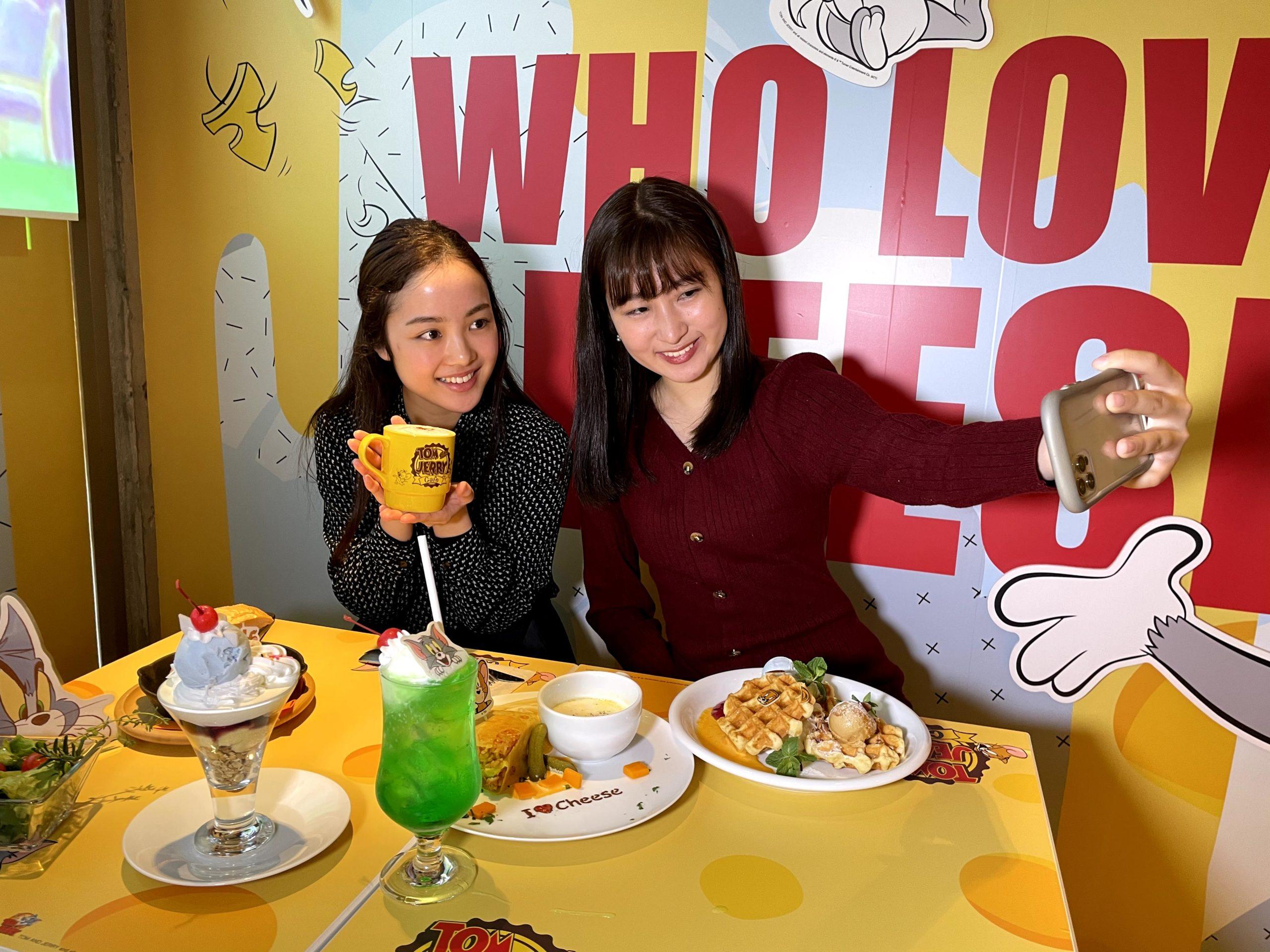 『トムとジェリー』カフェ【Reporter:久野史織・川口桃奈】