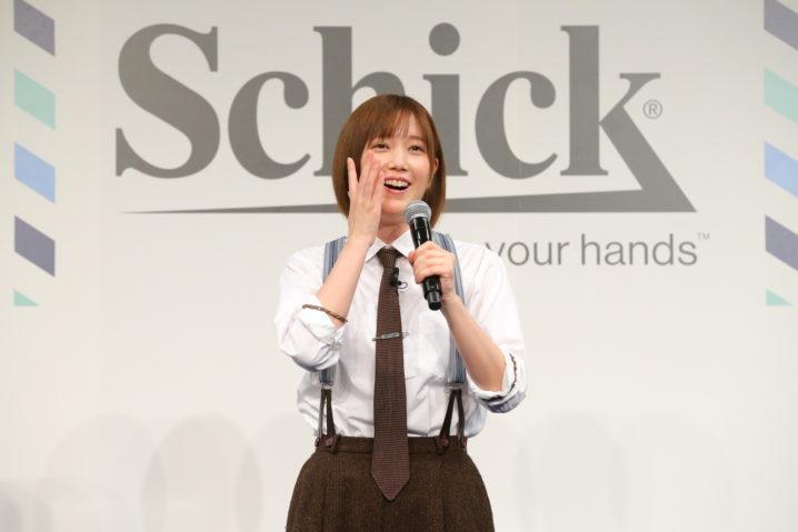 本田翼/Schick 極 新 CM 発表会 イベントにて(2021年3月16日)