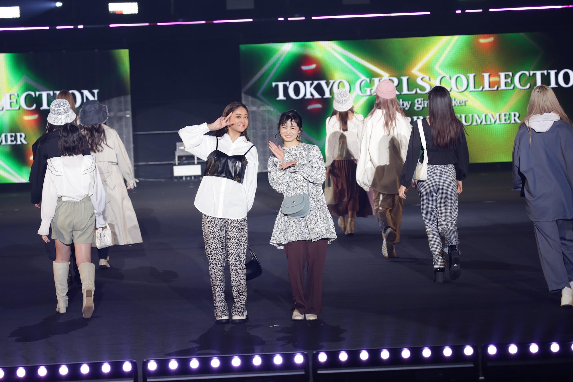 写真左~池田美憂、右~莉子 TGC