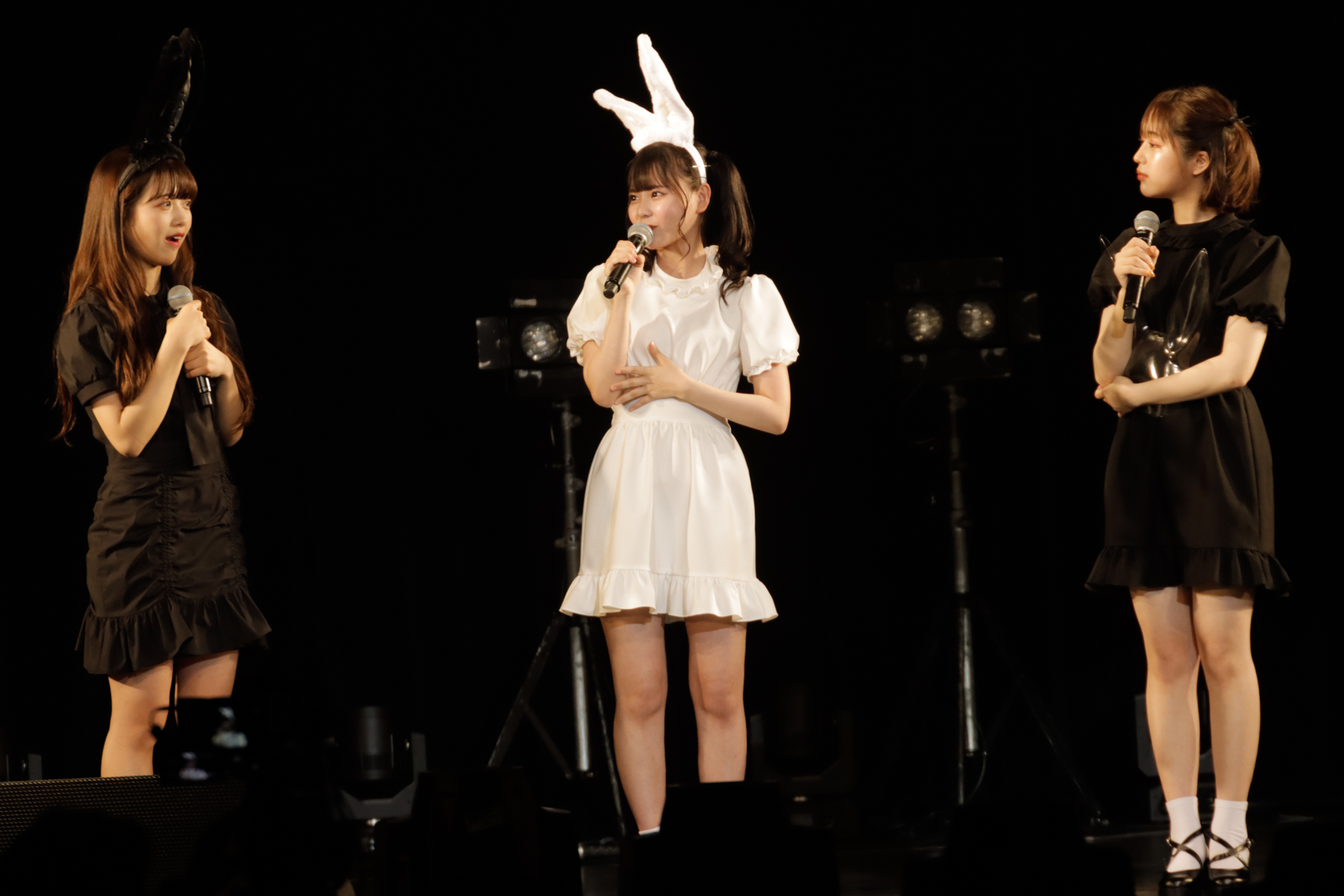 齋藤なぎさ、kirari、なえなのら人気モデルが「LARMEステージ」に登場<超十代>
