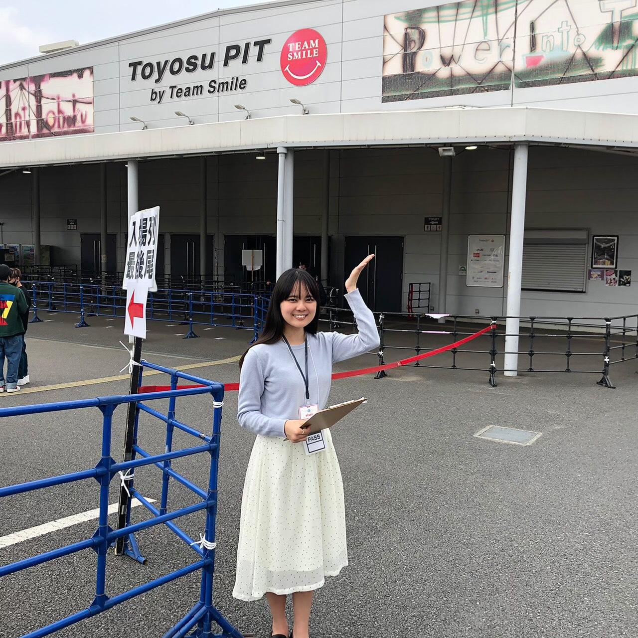 青木千聖(上智大学)ACTRESS PRESS REPORTER(リポーター)