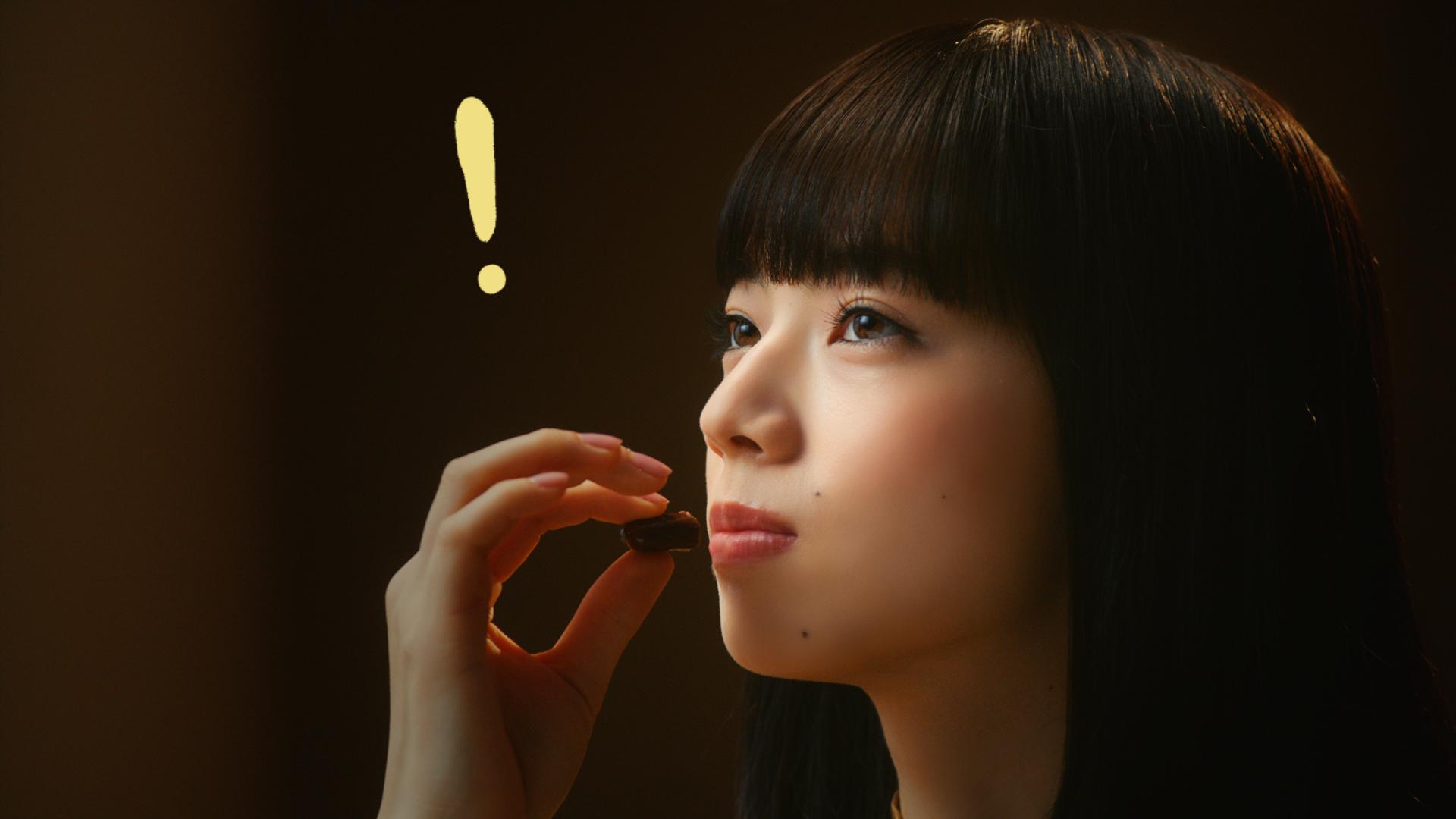 小松菜奈(こまつ なな/NANA KOMATSU 女優)/ガルボCM
